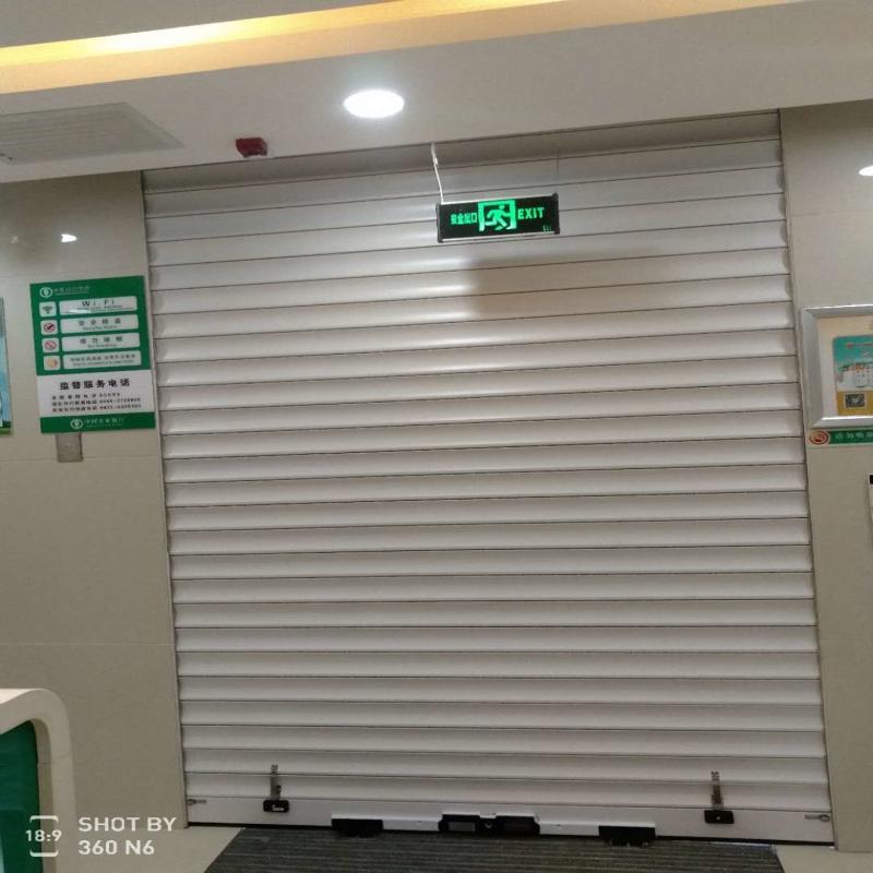 银行专用卷帘门及系统